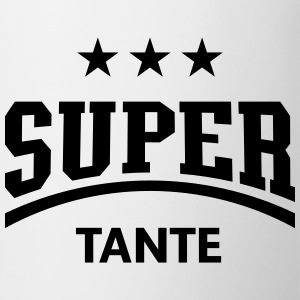 Super Tante, Damen T-Shirt - Tasse
