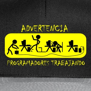 Advertencia Camisetas - Gorra Snapback