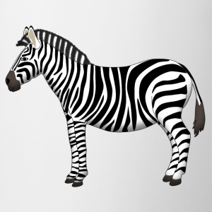 Zebra side T-shirts - Mugg