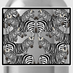 Zebras Shirts - Water Bottle
