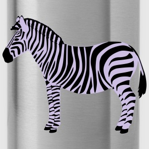 Zebra Vektor Bags & backpacks - Water Bottle