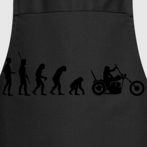 Chopper reverse evolution  T-Shirts - Cooking Apron