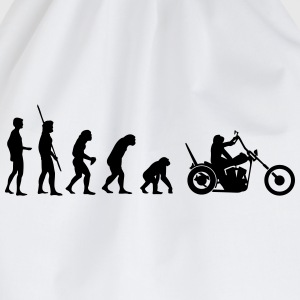 Chopper omvendt evolution  T-shirts - Sportstaske