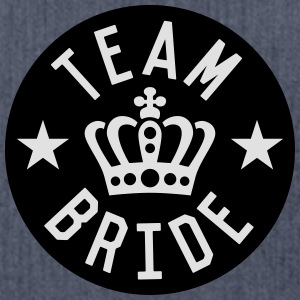 Team Bride T-Shirts - Schultertasche aus Recycling-Material