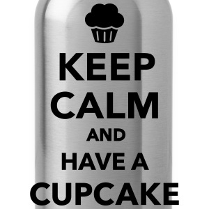 Keep calm and have cupcake T-Shirts - Trinkflasche