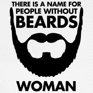 People Without Beards T-shirts - Basebollkeps