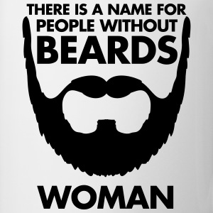 People Without Beards T-Shirts - Tasse