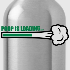 Poop Is Loading Koszulki - Bidon