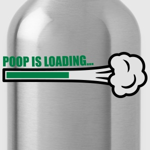 Poop Is Loading T-Shirts - Water Bottle