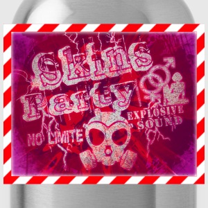 skins party no limite Tee shirts - Gourde