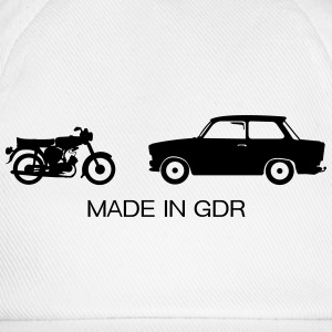 Auto's Made in GDR  T-shirts - Baseballcap
