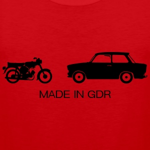 Auto's Made in GDR  T-shirts - Mannen Premium tank top