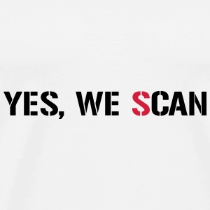 Yes, We Scan  NSA PRISM Sacs et sacs à dos - T-shirt Premium Homme