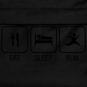 Eat, Sleep, Run T-Shirts - Kinder Rucksack
