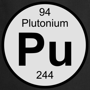 Plutonium (Pu) (element 94) - Cooking Apron