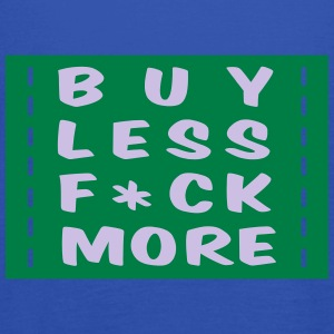 buy less fuck more 2 :-: - Tanktopp dam från Bella