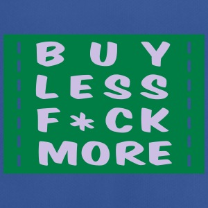 buy less fuck more 2 :-: - T-shirt respirant Homme