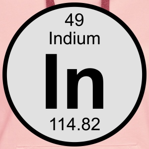 Indium (In) (element 49) - Women's Premium Hoodie