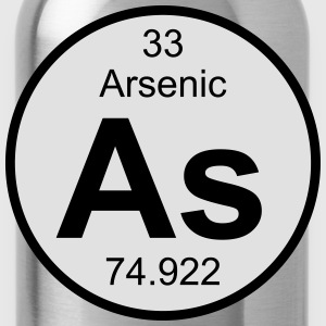 Arsenic (As) (element 33) - Water Bottle