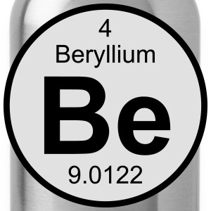 Beryllium (Be) (element 4) - Water Bottle