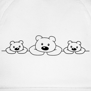 3 Bears T-Shirts - Baseball Cap
