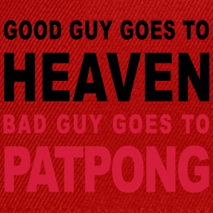 GOOD GUY GOES TO HEAVEN BAD GUY GOES TO PATPONG - Snapback Cap