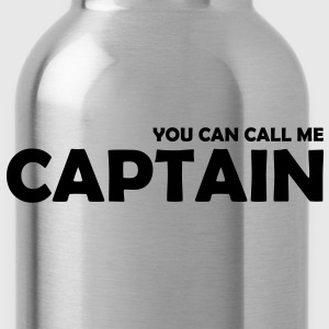 you can call me captain - Trinkflasche
