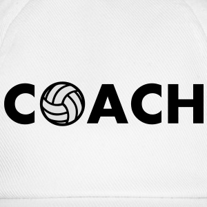 volleyball coach - Baseballkappe