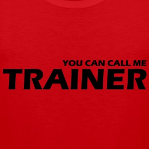 you can call me trainer - Männer Premium Tank Top