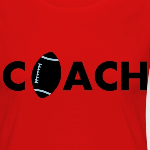 football coach - Frauen Premium Langarmshirt