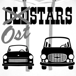 East Oldstarts vehicles  T-Shirts - Men's Premium Hoodie