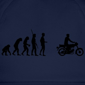 Evolution Simson Moped T-shirts - Baseballcap