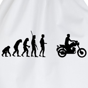 Evolution MZ ETZ motorbike  T-Shirts - Drawstring Bag