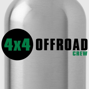 4x4 Offroad Jeep Crew T-Shirt - Trinkflasche