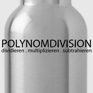 Polynomdivision T-Shirts - Trinkflasche