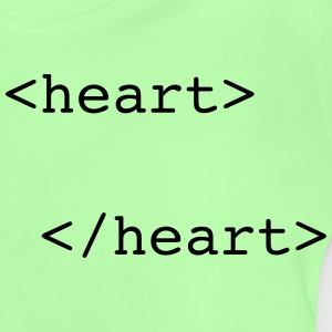 html heart Pullover & Hoodies - Baby T-Shirt