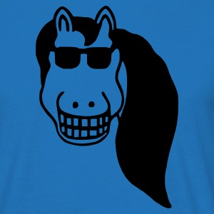 horse, grin Tabliers - T-shirt Homme