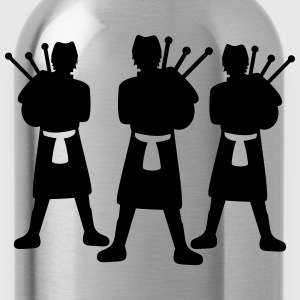 Bagpiper Team T-Shirts - Water Bottle