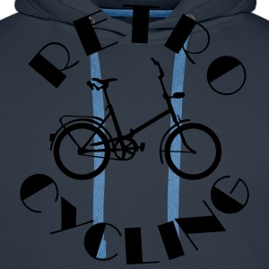 Retro Cycling Old School T-shirts - Mannen Premium hoodie
