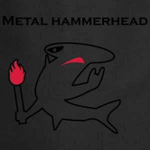 Metal hammerhead black collection T-shirts - Forklæde