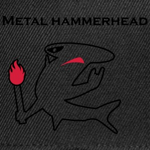 Metal hammerhead black collection T-shirts - Snapback Cap