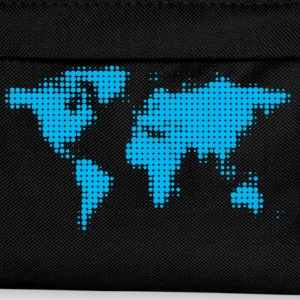 world map blue T-Shirts - Kids' Backpack