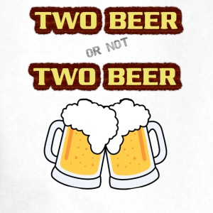 two beer Bottles & Mugs - Men's Premium Hoodie