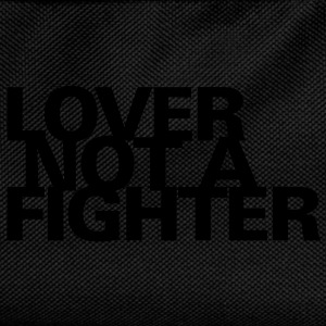 Männershirt Lover not a fighter - Kinder Rucksack