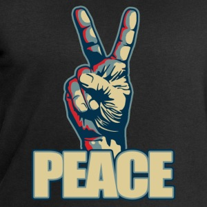 Peace hand sign - Sweatshirts for menn fra Stanley & Stella