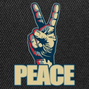 Peace hand sign - Snapback Cap