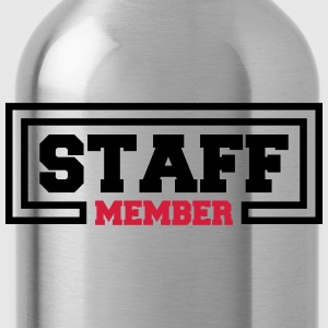 Staff Member T-Shirts - Water Bottle