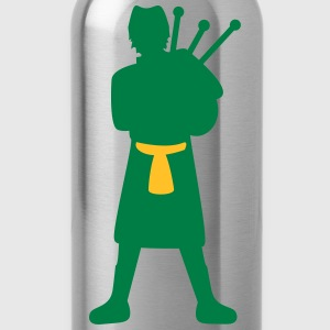 Bagpiper T-Shirts - Water Bottle