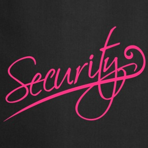 Security Camisetas - Delantal de cocina