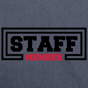 Staff Member T-Shirts - Shoulder Bag made from recycled material